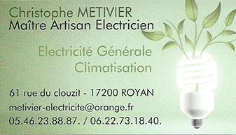 Electricien à Royan